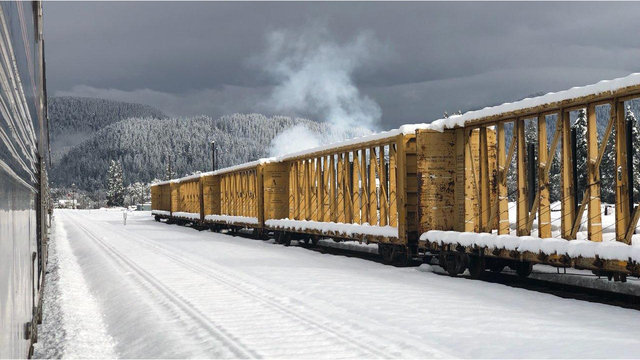 Oregon Amtrack stranded