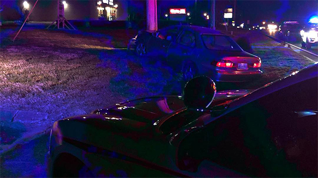 Teen crash Lebanon Road