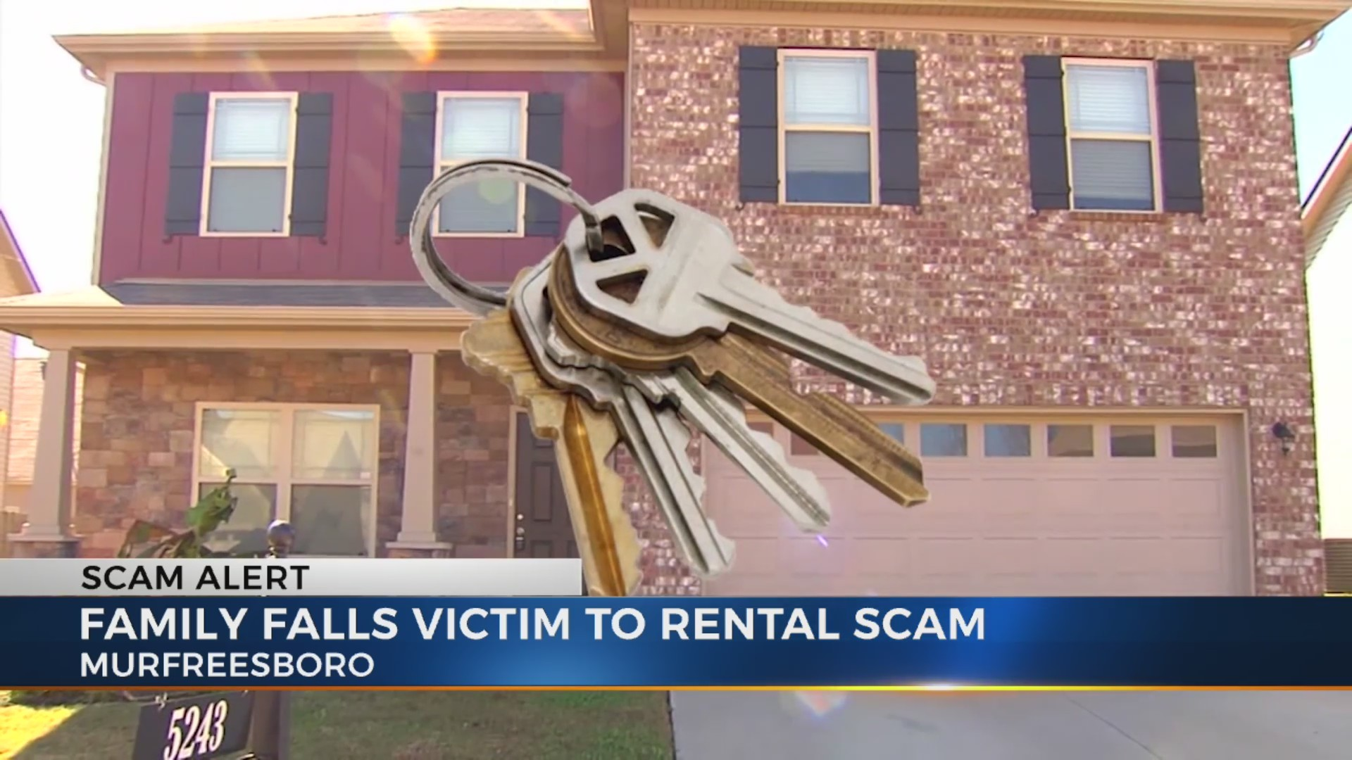Home rental scam