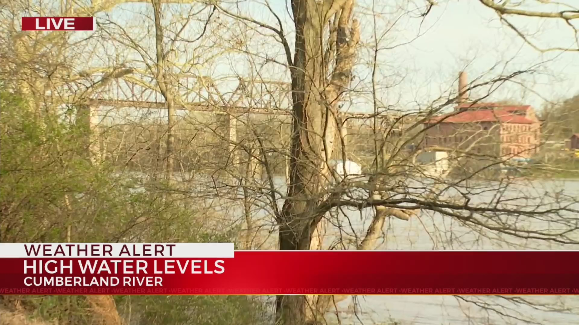 Monitoring Cumberland River levels as more rain comes