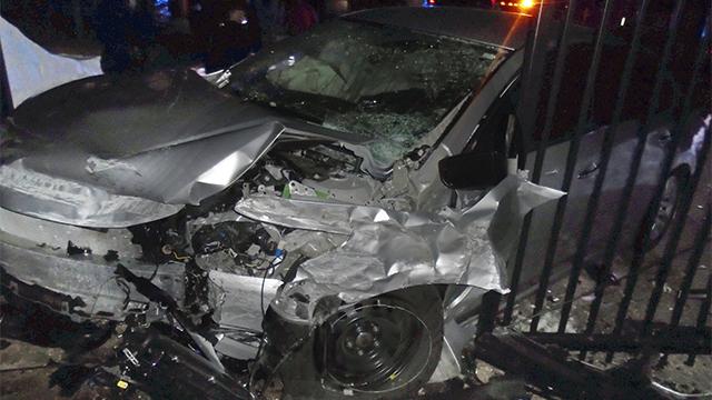 Taylor Swift gate crash