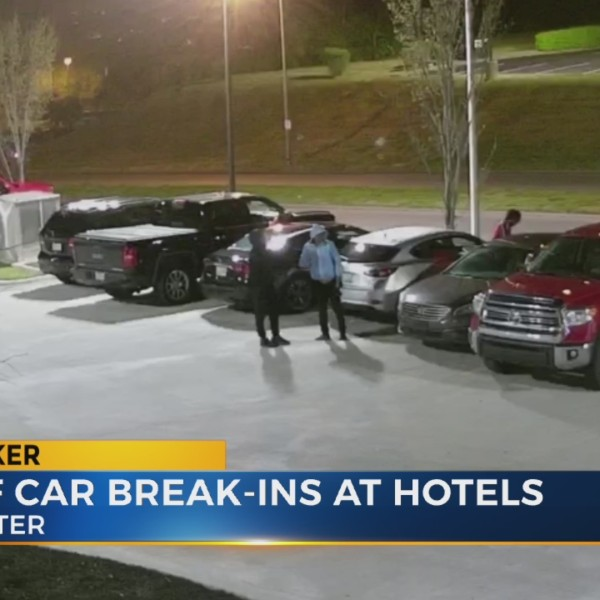 5 teens caught on camera breaking into cars