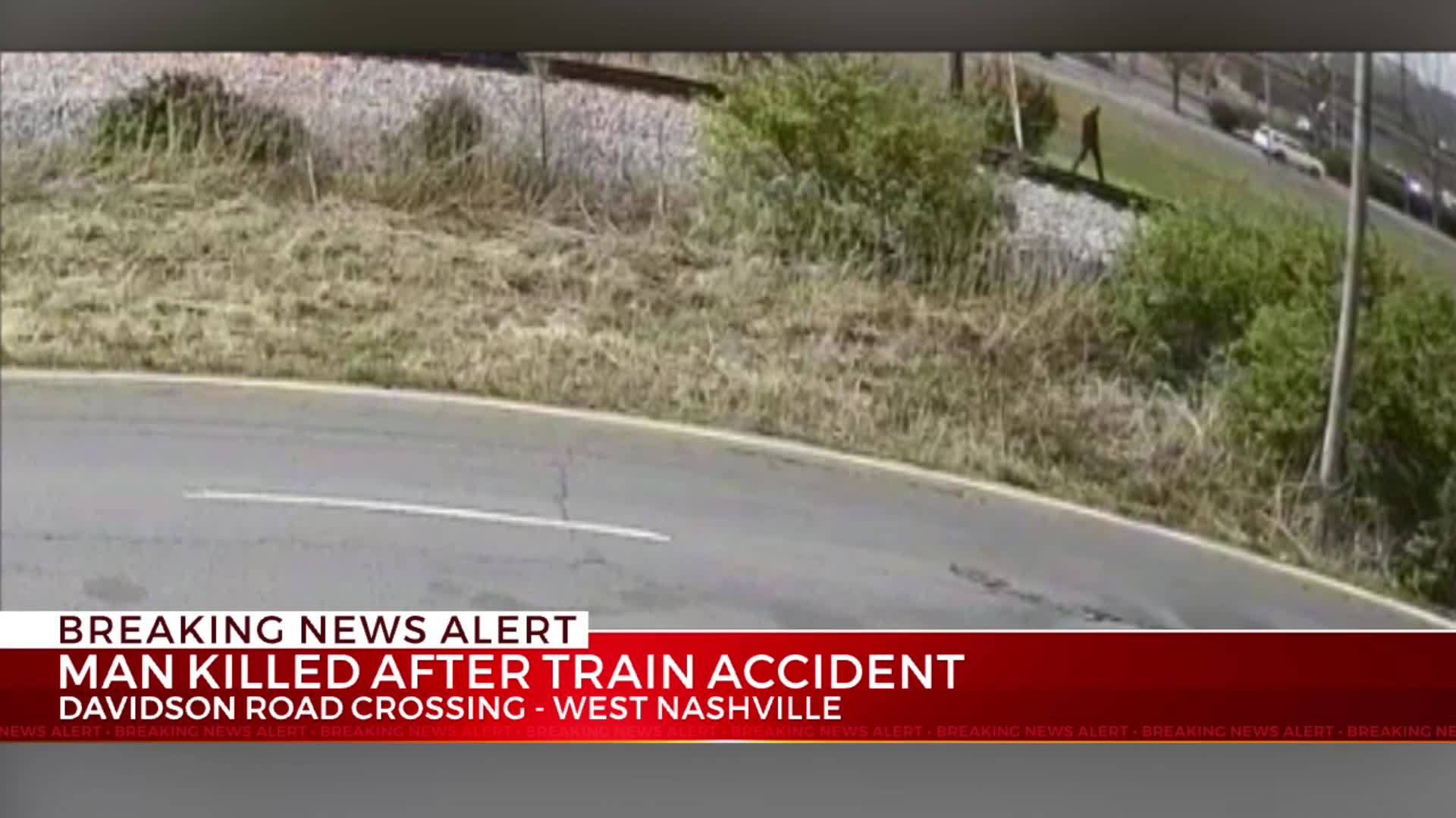 Man killed after train accident