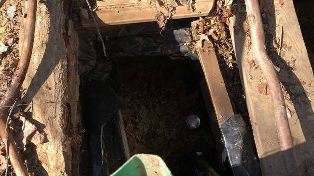 Earnest Dean Hendrickson bunker