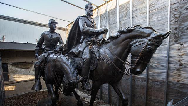 Dallas Robert E. Lee statue