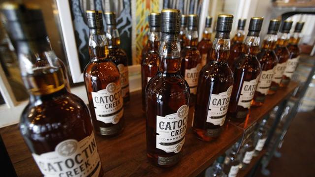 Catoctin Creek Distillery whiskey