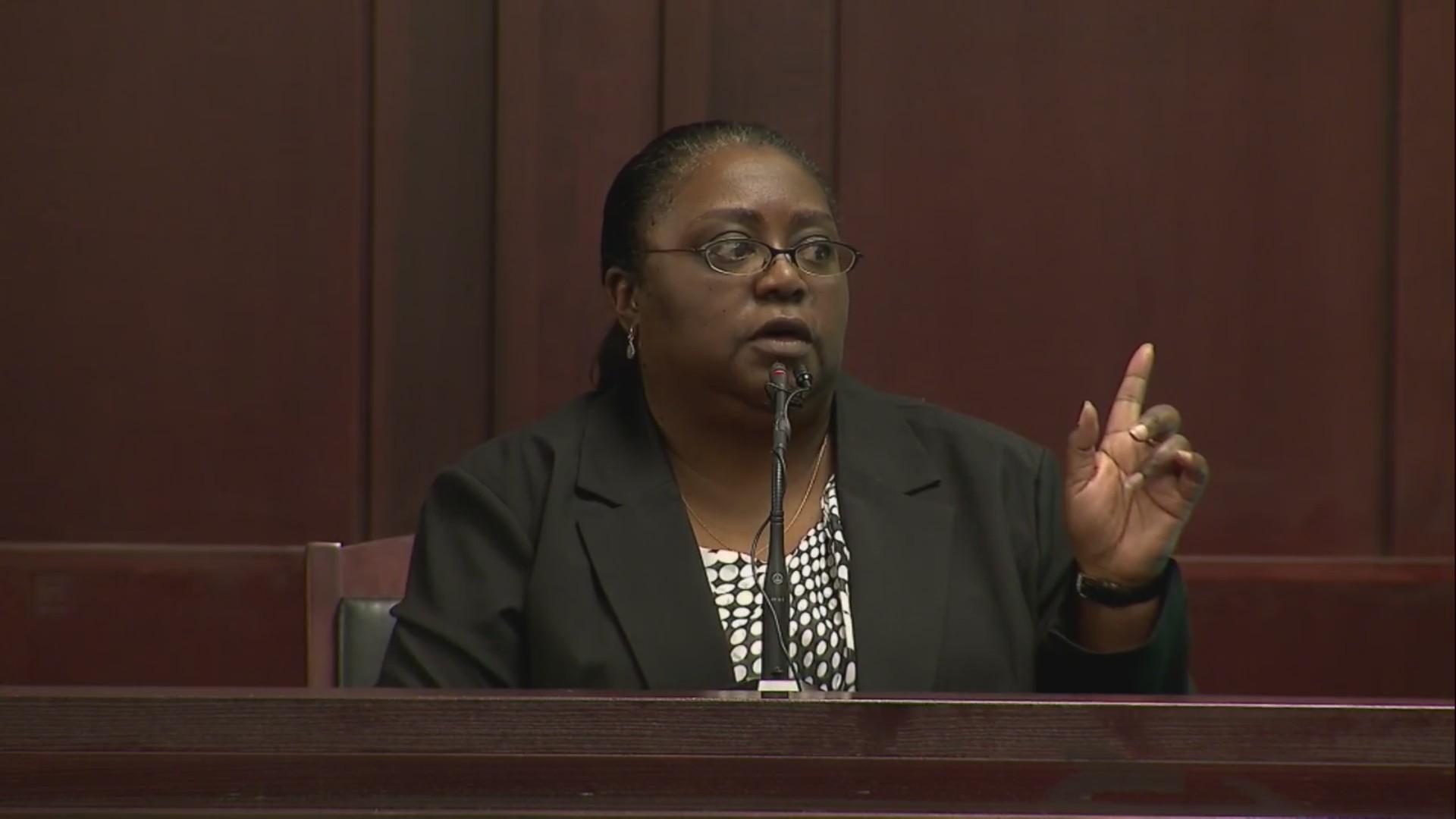 Alicia Leach testimony