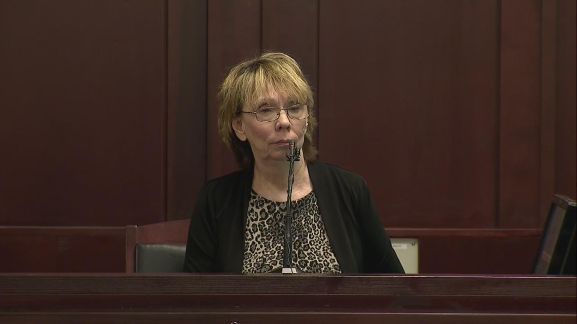 Catherine Dickerson, witness