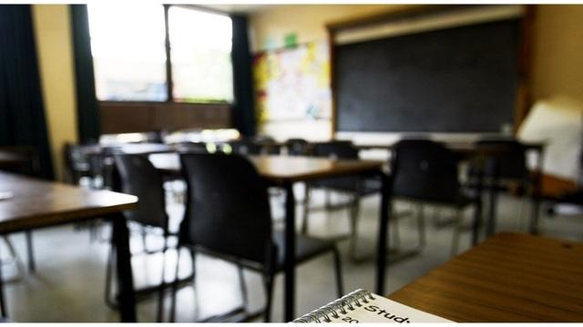 empty classroom school generic