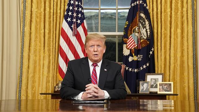 Donald Trump Oval Office generic