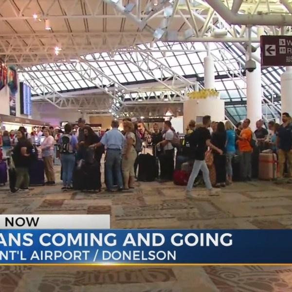 Country fans leave Music City as Bonnaroovians arrive
