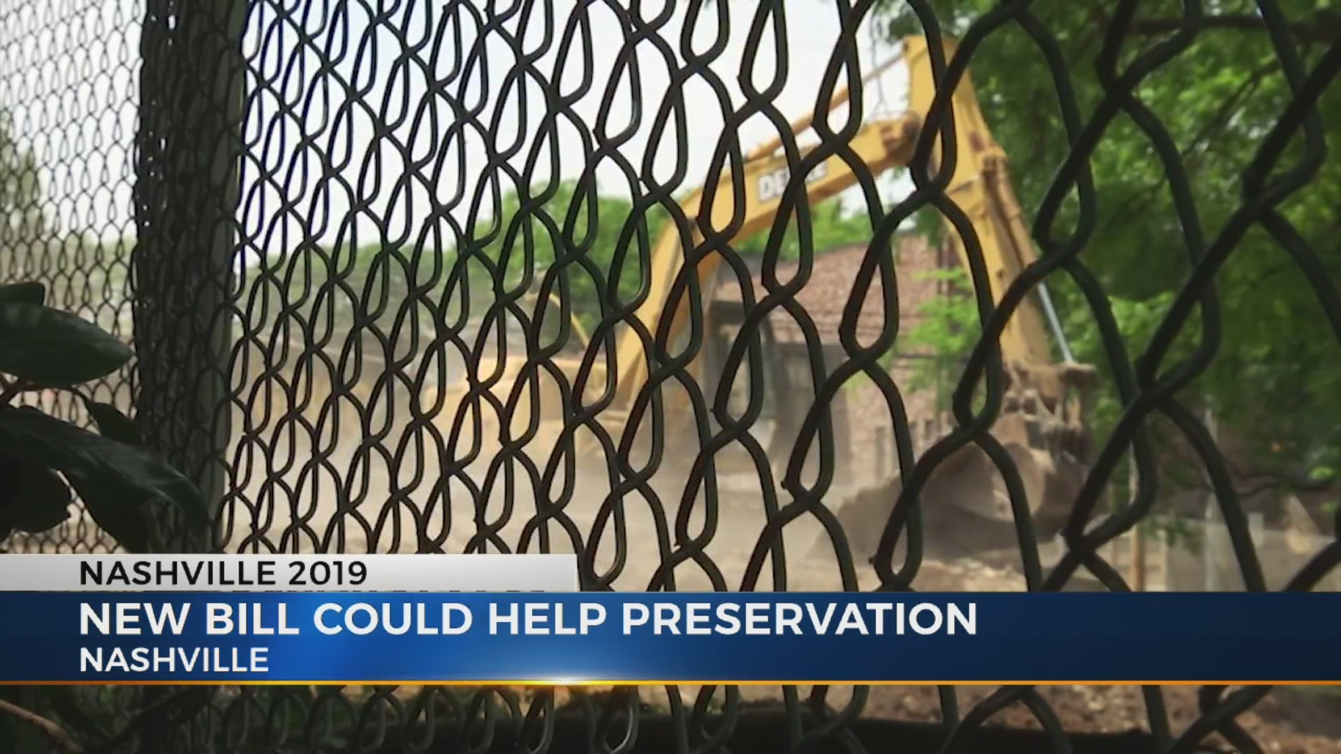New bill could help preservation