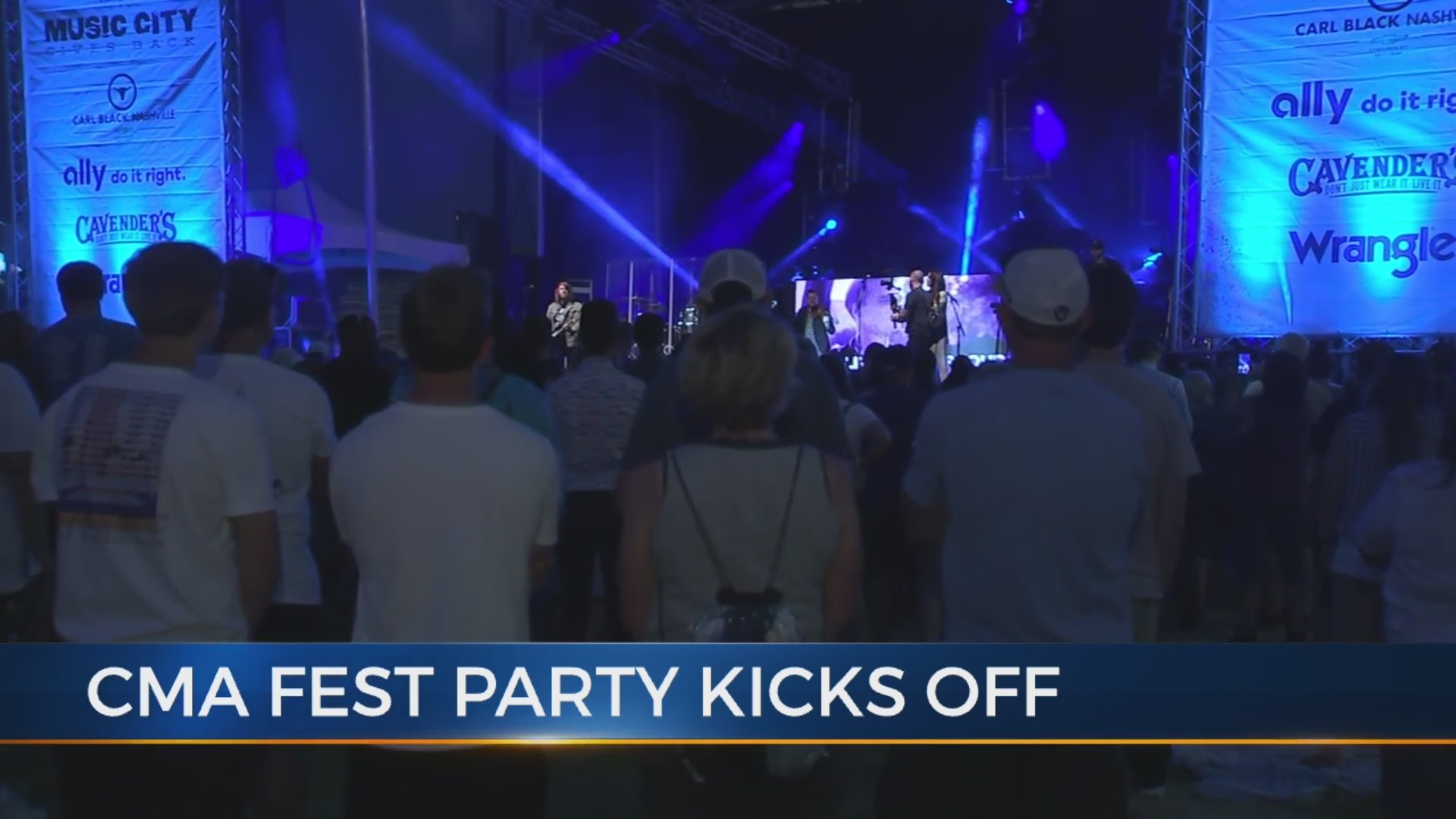 Thousands attend Music City Gives Back to kick off CMA Fest week