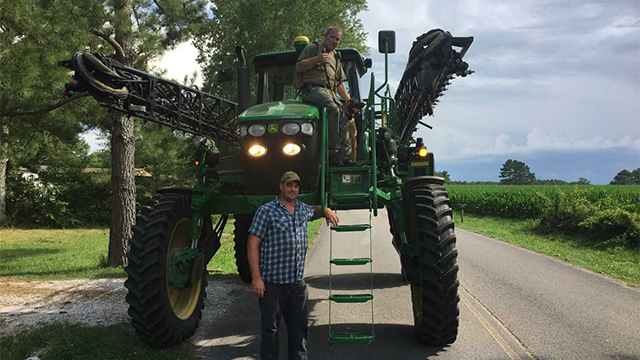 Franklin County cornfield arrest