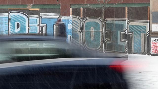 Detroit graffiti generic