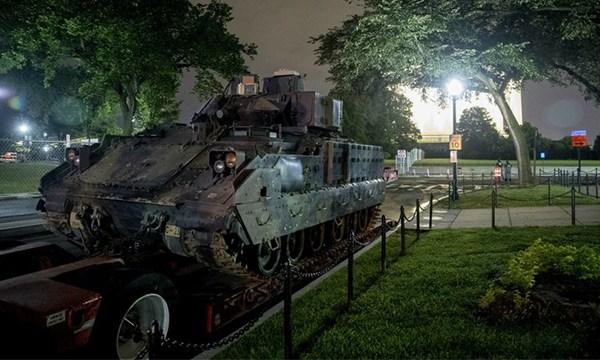 Bradley tanks 4th of July
