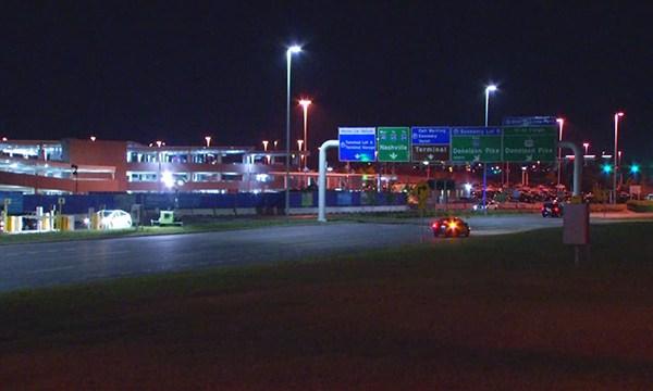 Nashville International Airport parking garage