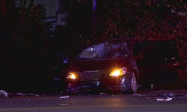Dickerson Pike rollover crash