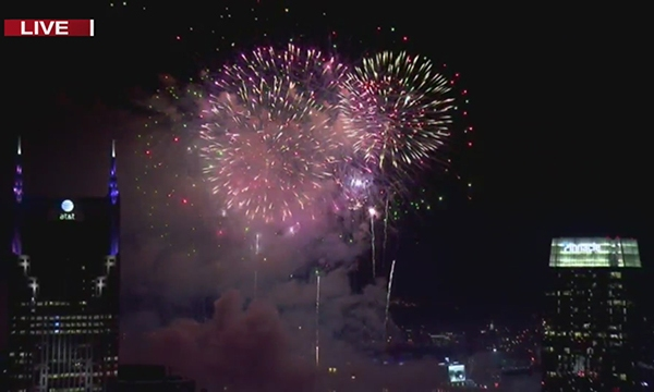 2019 downtown fireworks