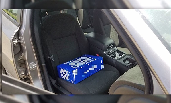 Beer case booster seat