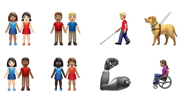 inclusive emoji