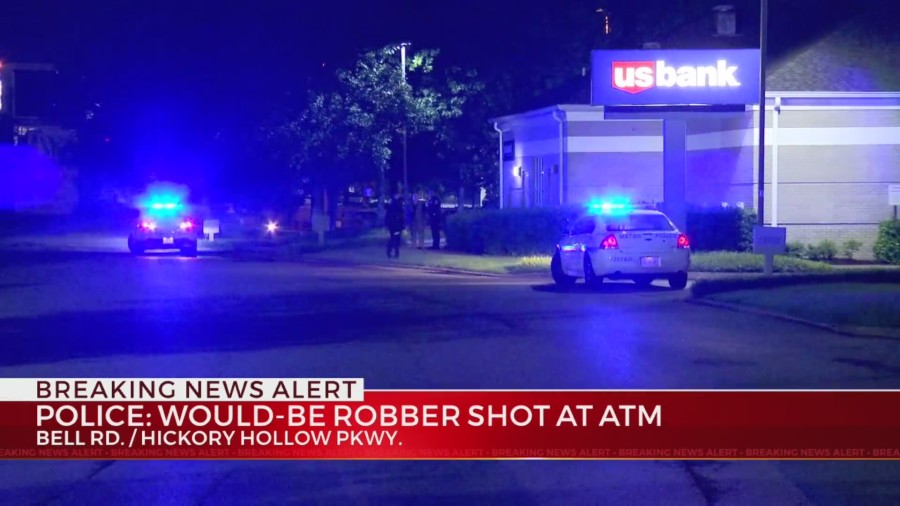 Would-be robber shot in Antioch