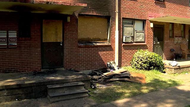 Edgehill homes fire