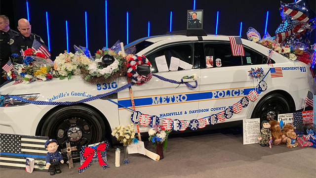 Metro car for Officer Anderson