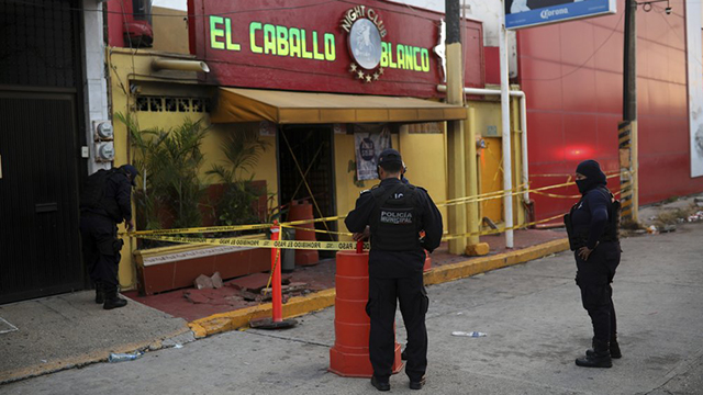 Mexico bar attack