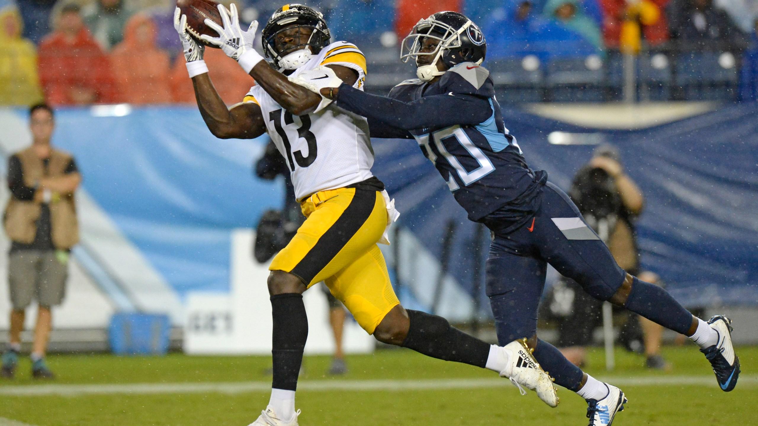 the latest 2cd2b 6931e Big Ben makes preseason debut, Steelers beat Titans 18-6 ...