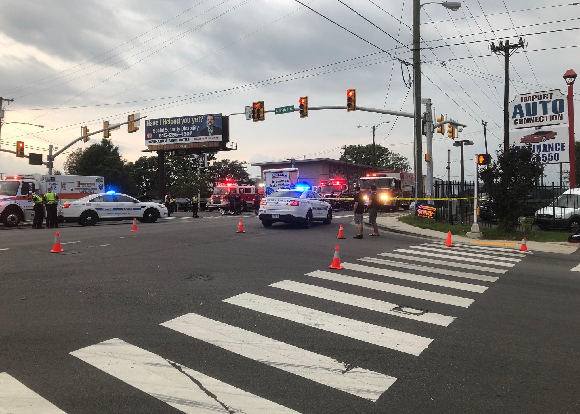 Metro Police investigating fatal collision, Murfreesboro