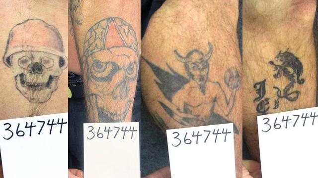 Curtis Watson tattoos