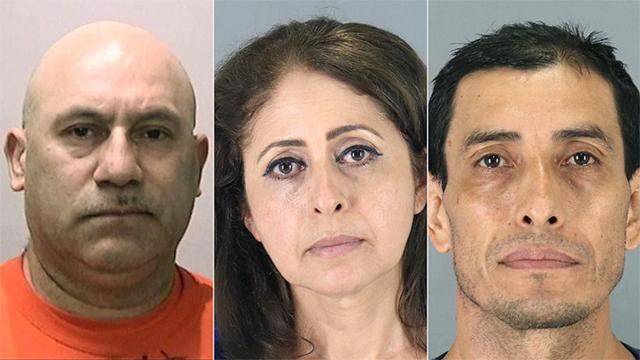 California closet arrests