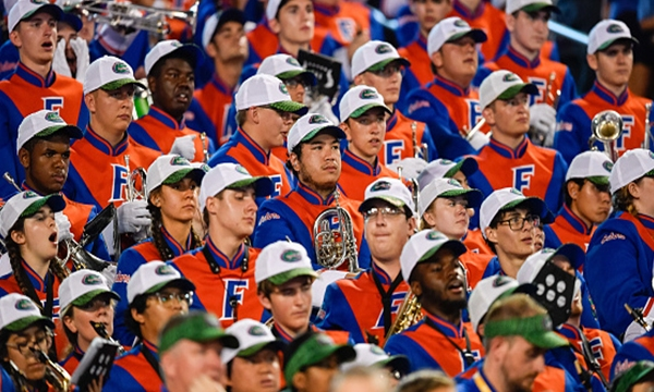 University of Florida Gator band