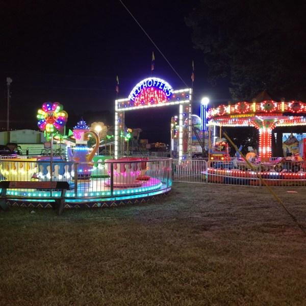 Wilson County fair kid rides