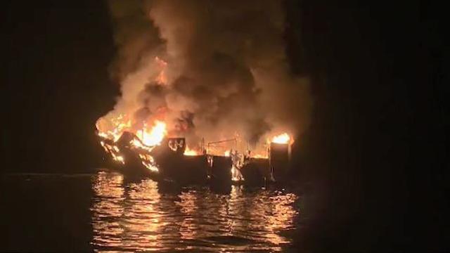 California dive boat fire