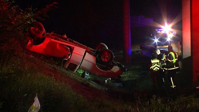 I-40 fatal rollover crash