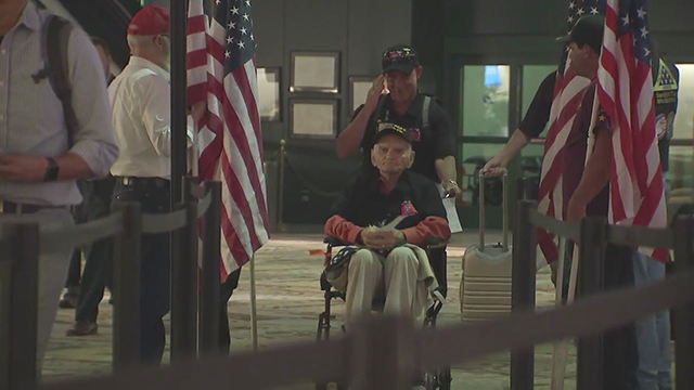 Middle Tennessee veterans take Honor Flight to nation's capital