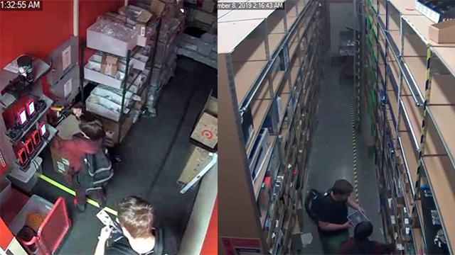 Smyrna Target suspects