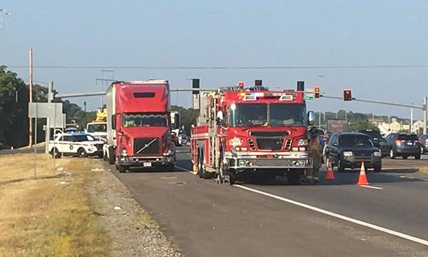 Sam Ridley bucket truck crash