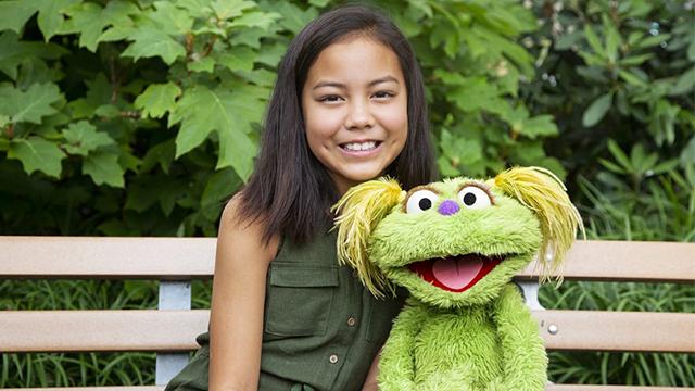 """Sesame Street"" character Karli"