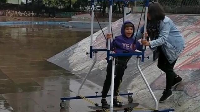adaptive skateboard