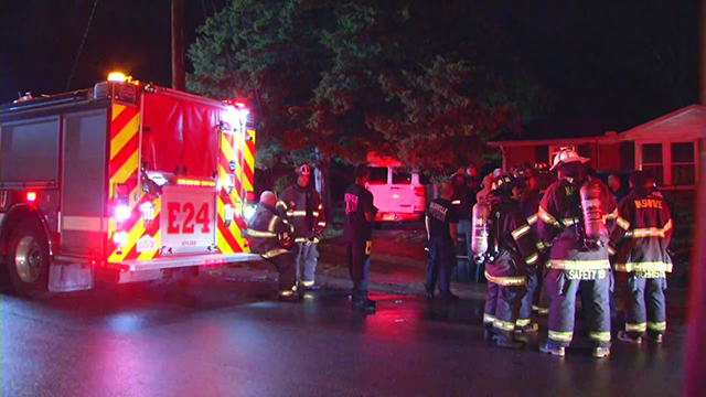 7 hospitalized after fire at Bordeaux home