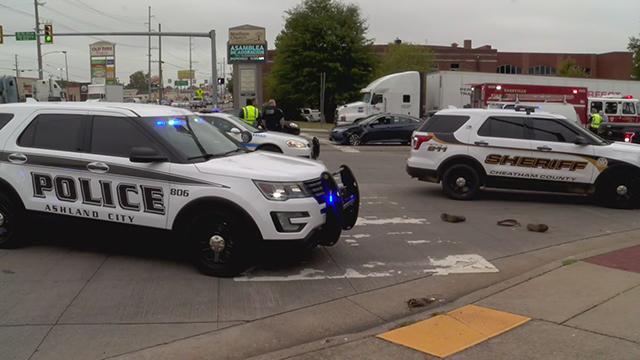 Madison pursuit crash