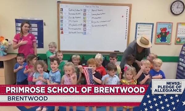 Primrose School of Brentwood pledge