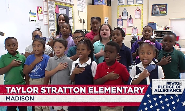 Taylor Stratton pledge