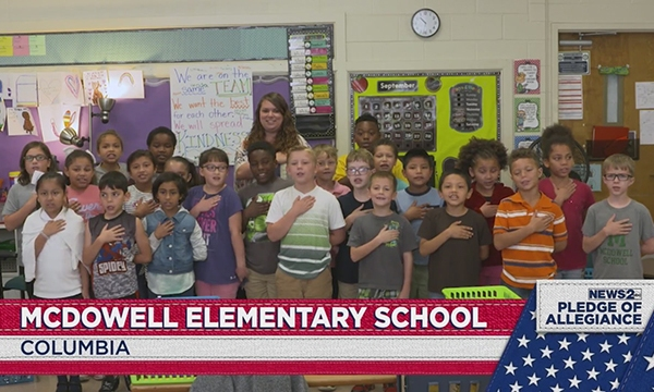 McDowell Elementary School pledge