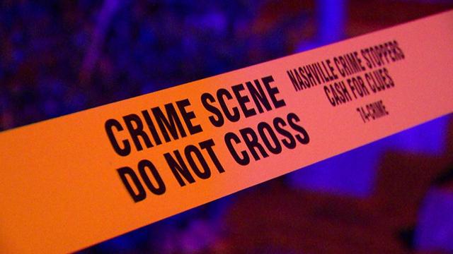 Crime Scene tape generic Nashville