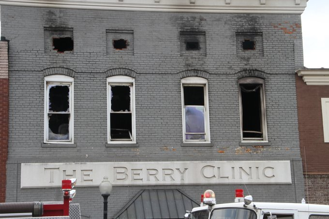 Dr. Kenneth Berry fire