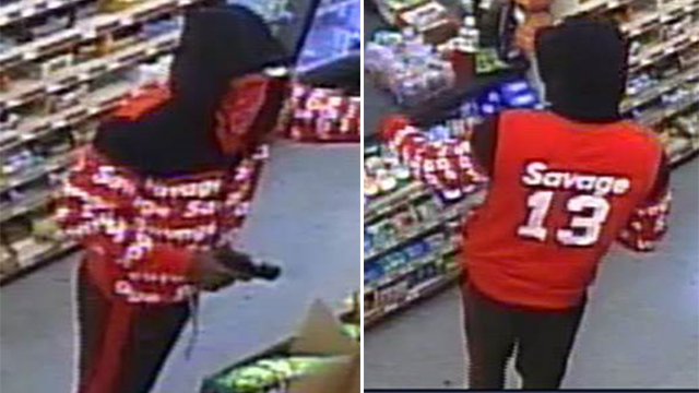 Dollar store armed robbery suspect